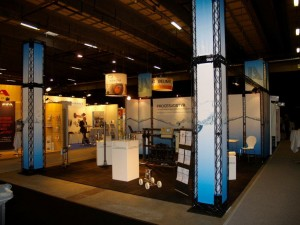 Messestand JA Watertechnic Vandtek 2010