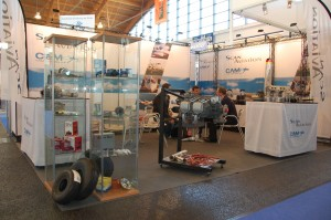 Scanaviation Crosswire stand AERO 2011