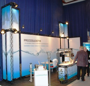 JA Watertechnic messestand Vandtek 2012